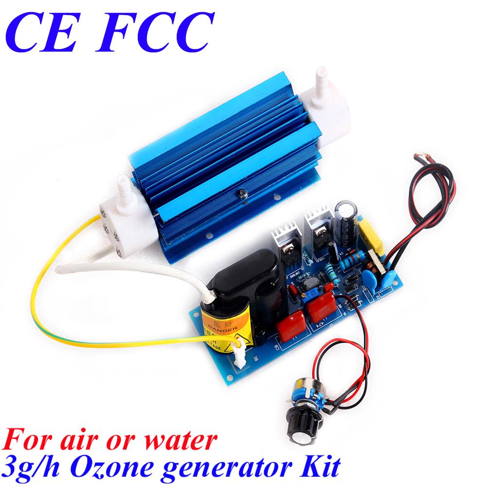 CE EMC LVD FCC 3g/h corona discharge ozonator