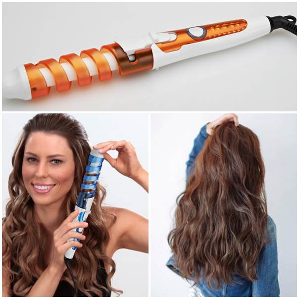 2M Cable Electric Magic Hair Styling Tools Professional Hair Curler Roller Spiral Curling Iron Wand Curl Styler 110-240V(China (Mainland))