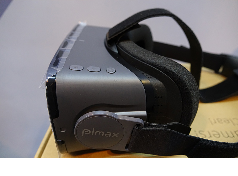 PIMAX 4K UHD VR Virtual Reality Glasses 3D Headset for PC Smart phone Cardboard Bluetooth Controller googles console gamepad