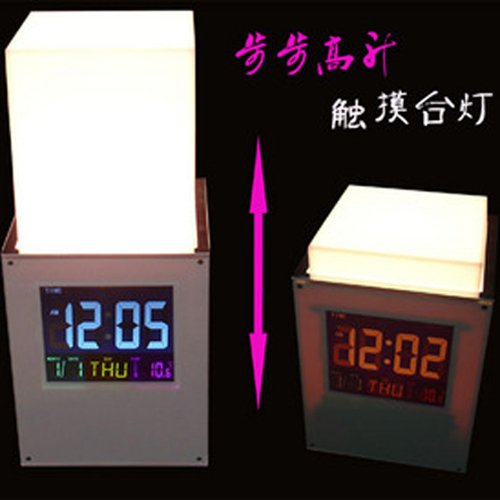 touch dimmer  table lamps colorful with time clock christmas halloween christmas<br><br>Aliexpress