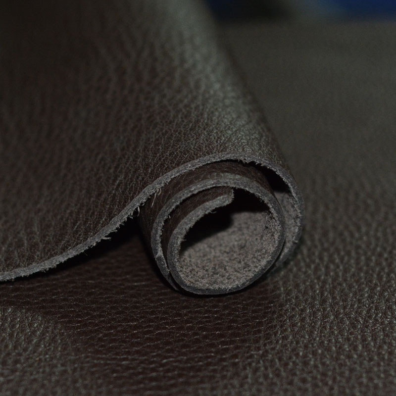 Wax horse leather black thick 1.4-1.6mm genuine leather raw material leather diy traveler 22 * 26 cm(China (Mainland))