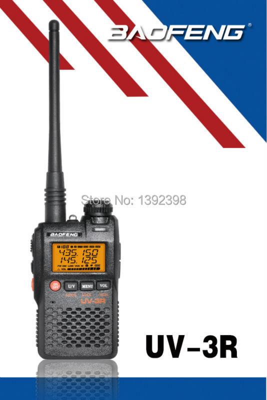 Baofeng UV-3R Two Way Radio UHF VHF 136-174MHZ & 400-470MHz Dual Band Walkie Talkie FM Transceiver(China (Mainland))