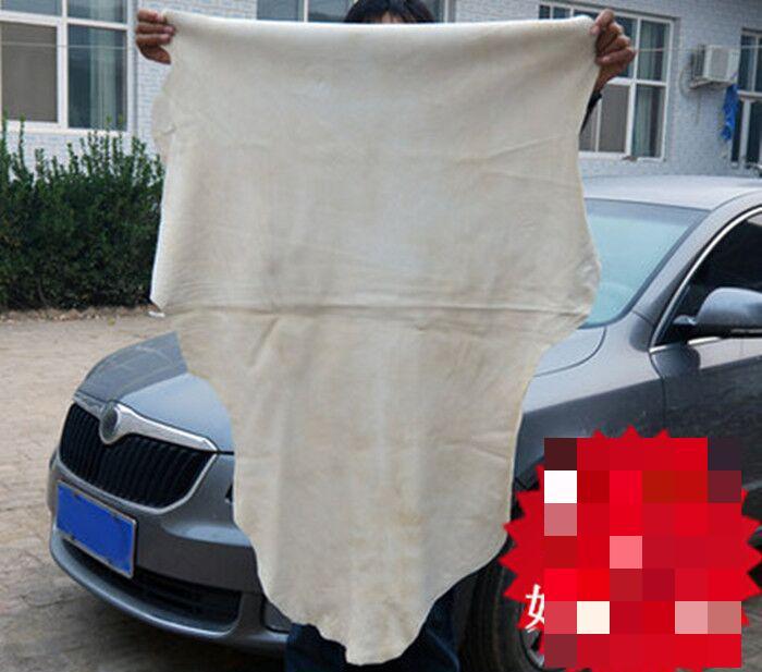 45*75cm Natural Sheepskin Chamois Cloth,chamois Towel,large Deerskin Towel Micro Fiber Polishing Cloth Motorcycle Chain Cleaner(China (Mainland))