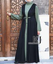 Buy long dress muslim kj 2015 muslim women dress pictures rayon Fabric muslim long sleeve maxi dress (two-piece)KJ-WAB30020 for $50.01 in AliExpress store