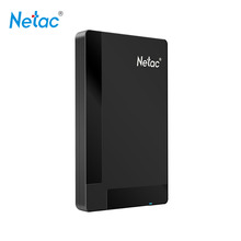 Netac Original K218 USB 3.0 External Hard Drive Disk 1TB 500GB HDD HD Hard Disk Storage Devices with retail packaging(China (Mainland))