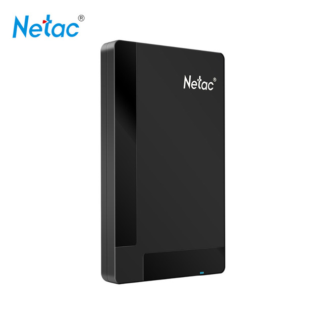 Netac Original K218 USB 3.0 External Hard Drive Disk 1TB 500GB HDD HD Hard Disk Storage Devices with retail packaging
