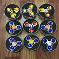 10 pcs lot Fidget Spinner EDC Tri spinner Torqbar The Crusaders HandSpinner Decompression Toys free shipping