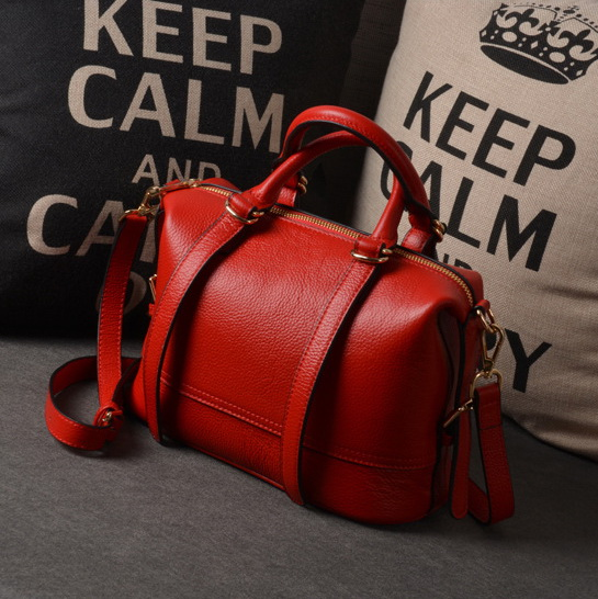 2015 womens girls brand new genuine leather handbags casual vintage messenger shoulder crossbody bags W155