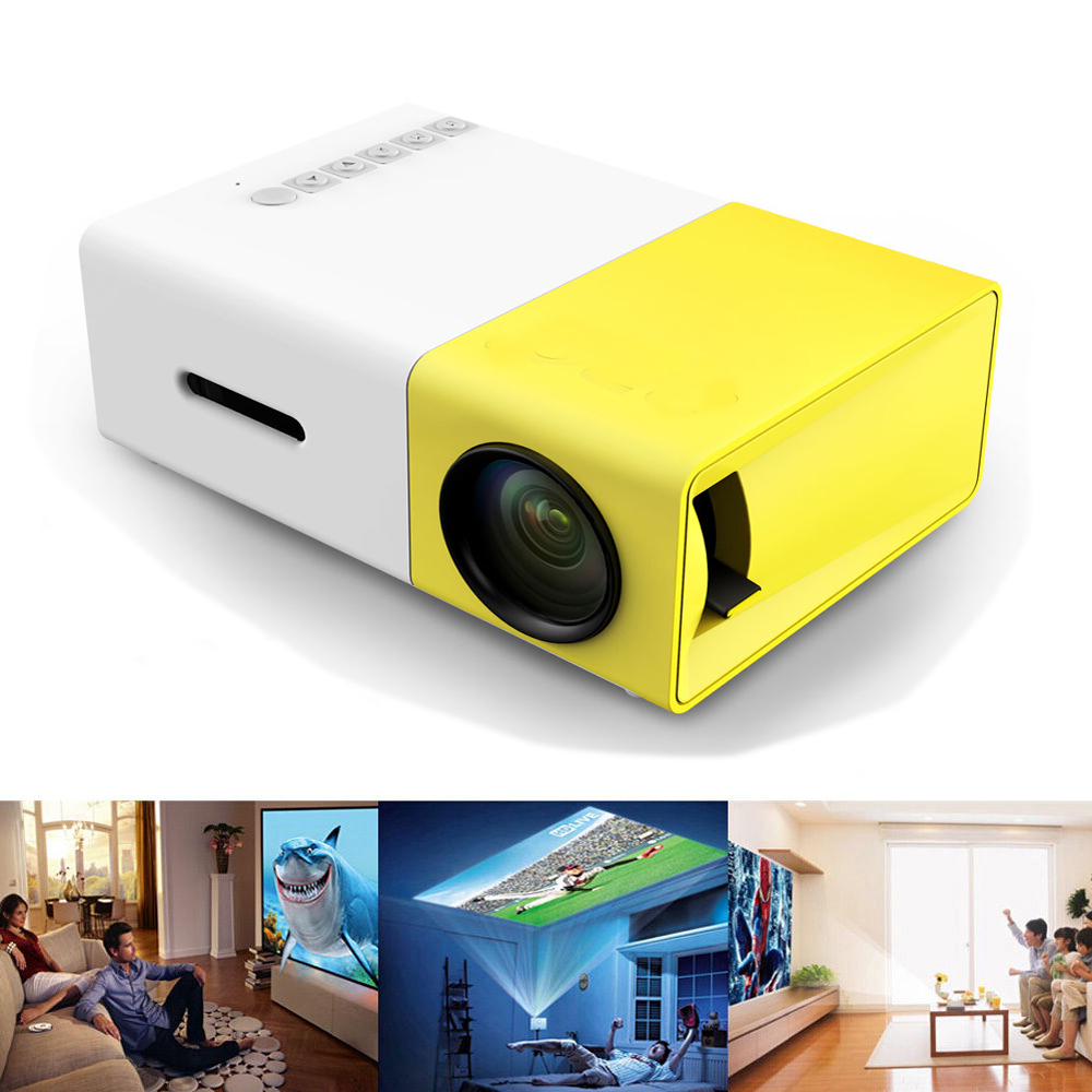 2014 new uc30 led mini projector proyector home theater for Latest pocket projector