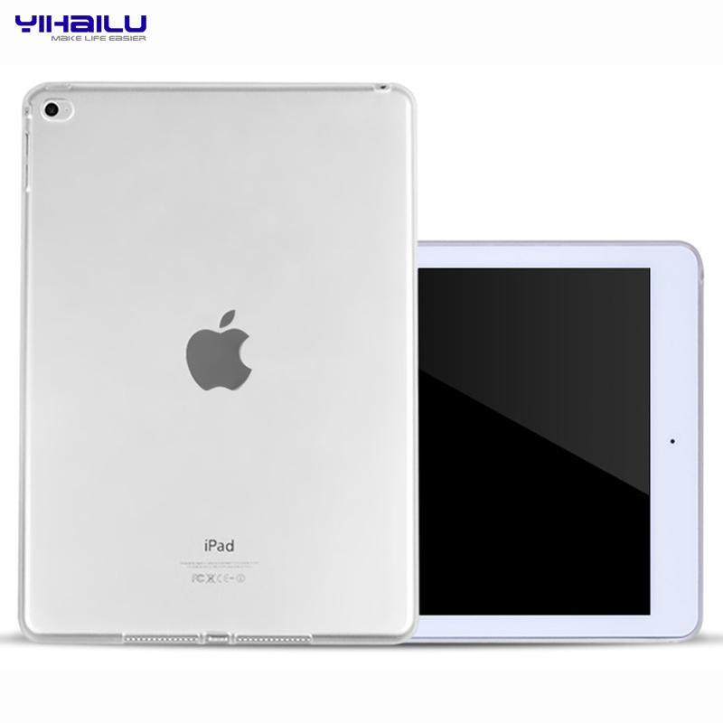Гаджет  For Apple iPad 4 TPU Soft Case Cover for iPad 3 Crystal Clear Transparent Silicon Ultra Thin Slim Shell for iPad2 None Компьютер & сеть