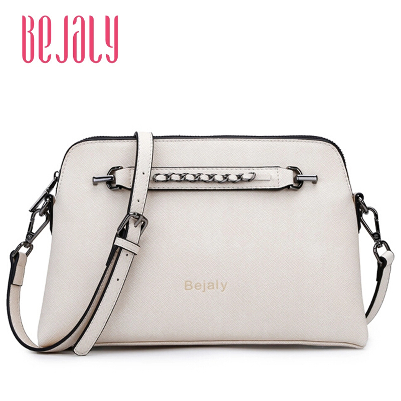 Fashion Famous Brand Women Shoulder Bag Fashion BEJALI High Quality Genuine Leather Women Handbags Women Solid Crossbody Bags<br><br>Aliexpress