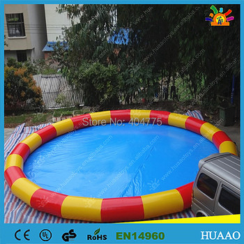 Commercial colorful inflatable swimming pool