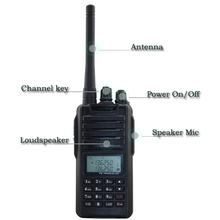 Zt-v900 vhf leistungsstarke radio 5w 128 kanal walkie-talkie ztv900(China (Mainland))