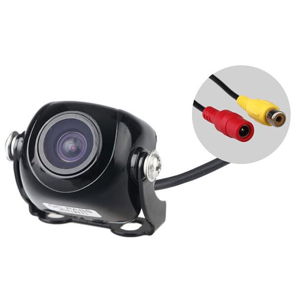170 Degree Waterproof Car DV Rearview Camera Car Rear View Black Auto Video Camera(China (Mainland))