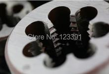 Envío gratis 1 unid estándar métrico dientes Die M30 x 3.5 mm Dies roscar torno modelo ingeniero tema creador 30 mm x 3.5 mm