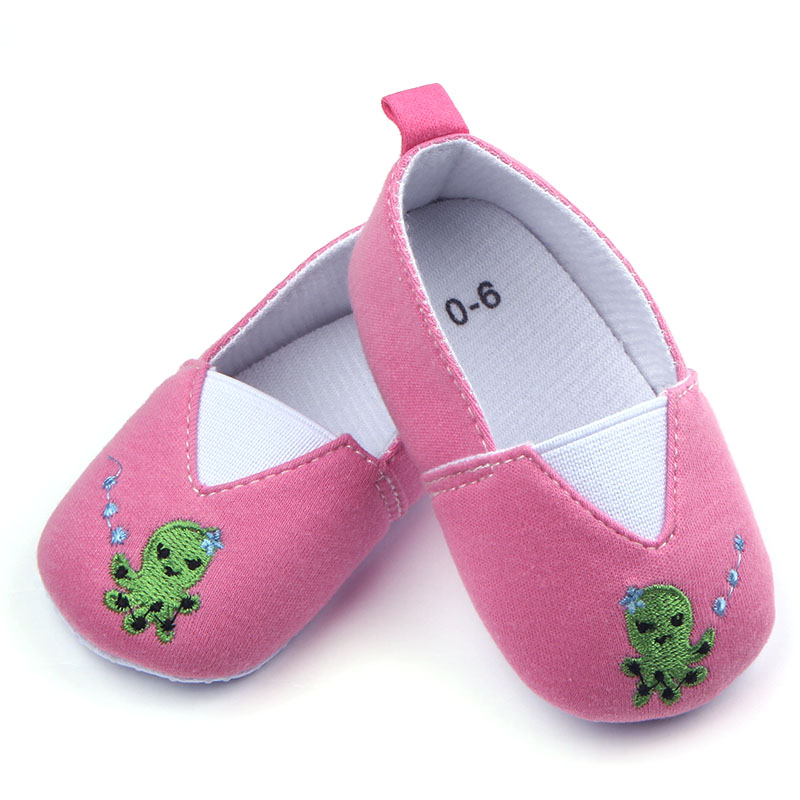 Wholesale Fancy Baby Girl Shoes Soft Sole Beautiful Infant Toddler Shoes Cloth Kids Frewalker Girl Baby Casual Shoes(China (Mainland))