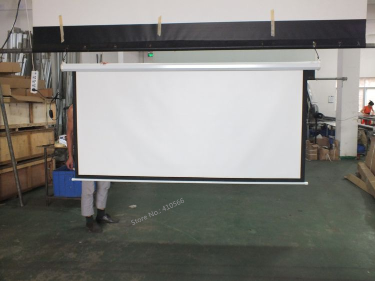 150 inch motorized screen pic 19