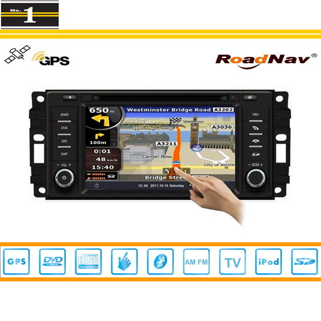 For Dodge Caravan 2008~2010 - Indash GPS Navigation DVD Player Radio Stereo TV BT iPod 3G WIFI 1080P S100 Multimedia System(China (Mainland))