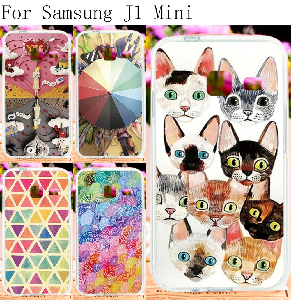 Hard Plastic Painted Phone Cases For Samsung Galaxy J1 Nxt J1 MiNi(2016) J105 4.0 inch Cases Covers Romantic Pictures Brand HSG(China (Mainland))