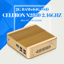 Buy Mini PC Linux N2830 2G RAM 64G SSD WIFI Ubuntu Linux 12.04 Small Computer Case Support Hd Video Thin Client for $142.00 in AliExpress store