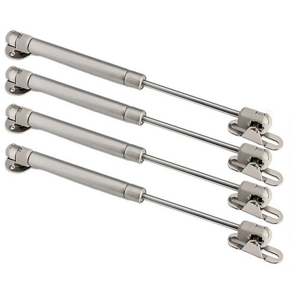 6pcs 100N/22.5lb Hydraulic Gas Support Cabinet Spring Brass Cover Down Open Damper Bunt Buffer Pressure Rod Cupboard Kitchen(China (Mainland))