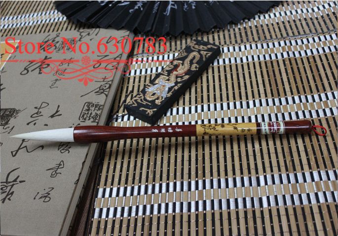 Advanced Chinese Brush with pure Woolen+Boxwood and Huanghauli Wood for Artist Painting and Writing, Promotion+Free shipping<br><br>Aliexpress