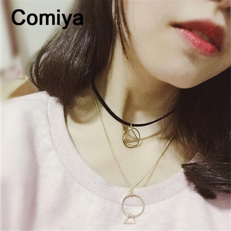 Comiya death note jewellery body jewelry fashion leather lin chain geometric shape pendant choker necklaces corrente masculina(China (Mainland))