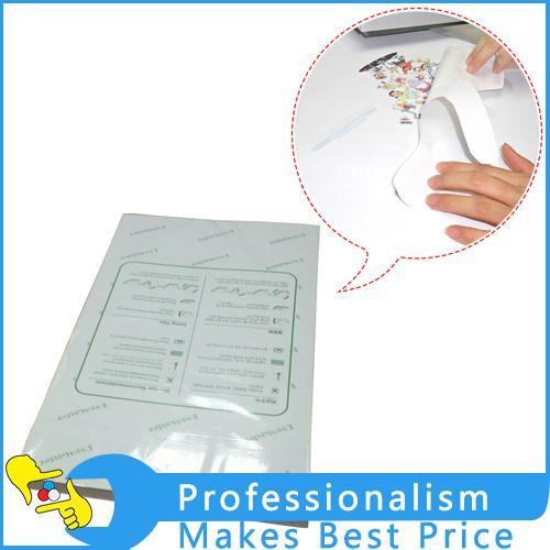 A4 Size,100PCS 3D Sublimation Heat Transfer Paper, Dye Sublimation for phone case / Mugs /Mouse pad/Ceramics/Non-cotton T-shirt(China (Mainland))