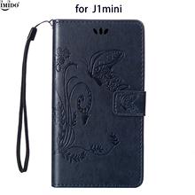 "Buy Embossed Case Galaxy J105 Galaxy j1 mini 2016 Retro Leather Flip Wallet Case 4.0"" SamSung J1mini Phone Case j105 Coque for $4.98 in AliExpress store"