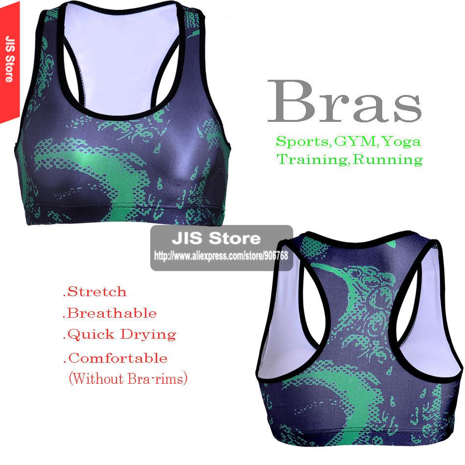2016 New Sexy Bra Hot Women Athletic Sports yoga Bra Plus Size Push Up Crop comfort Bra Tops Seamless Racerback Running Gym Bras(Hong Kong)