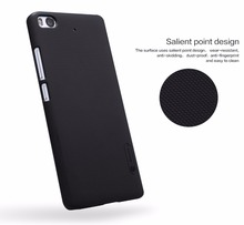 """5.15 inch NILLKIN Frosted hard Plastic back cover For xiaomi mi5s mi 5s case cover with free Screen Protector mi5s"""" case(China (Mainland))"""
