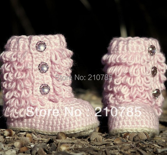 Aliexpress.com : Buy new design Baby crochet Boots handmade crochet ...