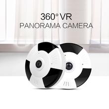 1080P IP Camera Fisheye Panorama IR Night Vision HD Wifi Camera 360 Degree Full View Home Security Surveillance Camera Outdoor(China (Mainland))