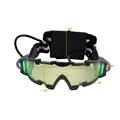 Eye Shield Hunting Night Vision Goggles Green LED Lights Ergonomic Goggles Night Vision Device Adjustable Elastic