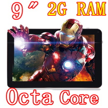 9 inch 8 core Octa Core 1024X600 2GB ram HD 32GB Wifi Camera 3G Bluetooth Tablet pc Tablets PCS Android4.4 7 8 10