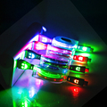1M Retractable LED Flash Micro USB Cable Luminous USB Data Sync Cord For Samsung Xiaomi Sony