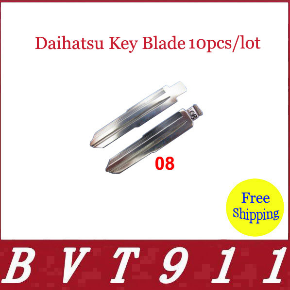 2014 Super Selling ! 100% Original Superior Quality Car Key Blade Daihatsu Key Blade 10pcs/lot Free Shipping Daihatsu Key Blade(China (Mainland))
