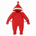2016 New Infant Down Rompers Winter thermal Baby Overalls Kids Down Clothing Boys Girls Brand Down