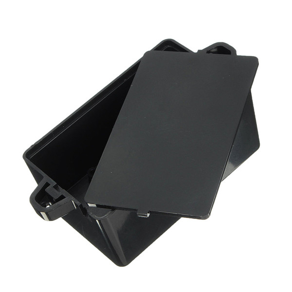Black Waterproof Plastic Cover Project Electronic Instrument Case Enclosure Box