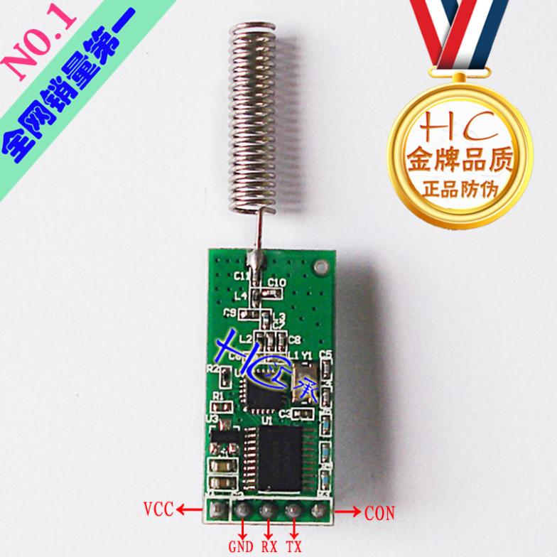 HC-11 433 wireless serial wireless serial interface module with serial CC1101 wireless module module(China (Mainland))