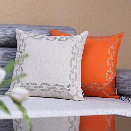 Plain Linen Throw Pillow Covers : brief europe style decorative sofa throw pillow case couch pillows car covers plain linen ...