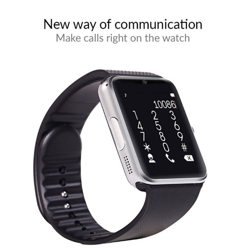 Bluetooth Smart Watch Dial Call Passometer wearable devices Support SIM TF Card Smartwatch gt08 For Android OS phone pk dz09 f69