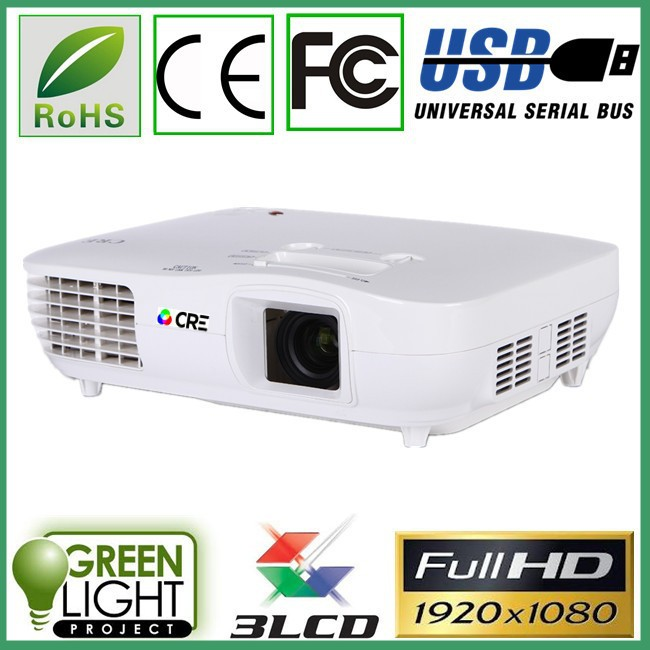Led projectors 1080p native 1920*1080 proyectores video Portable 3D Proyector hd ready 3000Lumens
