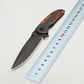 BMT Brand Camping Survival Folding Knife With 3Cr13MOV Blade Titanium Surface Tactical Hunting Pocket Knives Outdoor