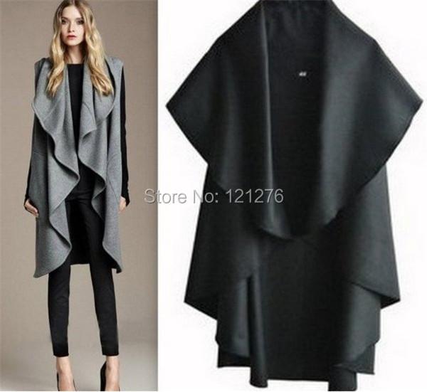 2015 Hot Sale Women's Fashion Wool Coat, Ladies' Noble Elegant Cape Shawl, Ladies Poncho Wrap Scarves Coat 5 Color Free Shipping(China (Mainland))