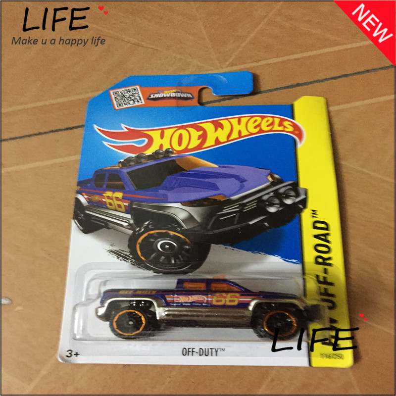 Free Shipping Hot Wheels Off Duty Car Models Metal Diecast Cars Collection Kids Toys Vehicle For Children Juguetes 29(China (Mainland))