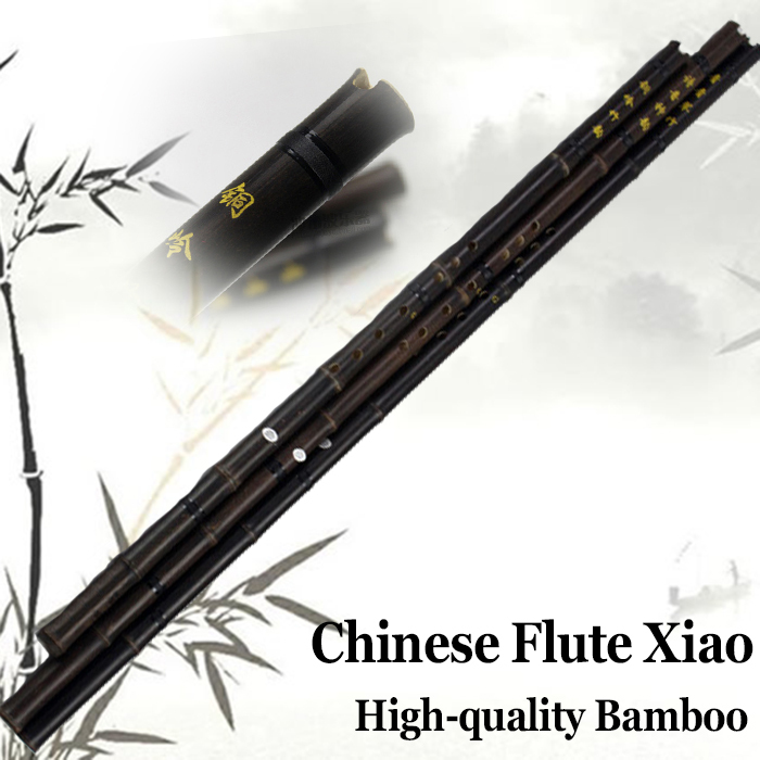 Chinese Flute Xiao Bamboo Pipe Professional Musica...