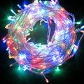 10M 100LED RGB and single color String Lights AC 110V 220V outdoor lighting Fairy Christmas Wedding