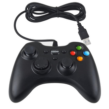 Brand New Wired USB PC Game Controller Handle double shock Joypad Remote Joystick Gamepad For PC Laptop Computer Winows XP