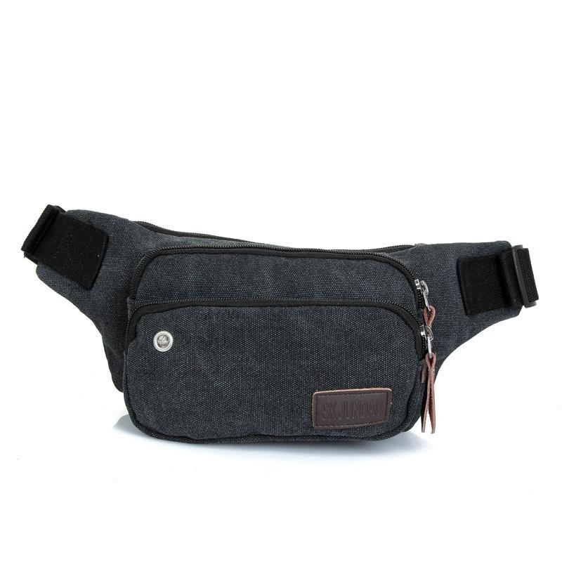 2015 New Arrival Cotton Fabric Women Waist Bag Fashion High Quality Pack Bag For Female Green Blue Black  Khaki Brown <br><br>Aliexpress